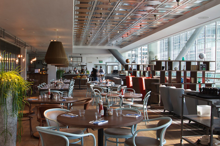 The pearson room resturant by b3 designers london for Restaurant design london