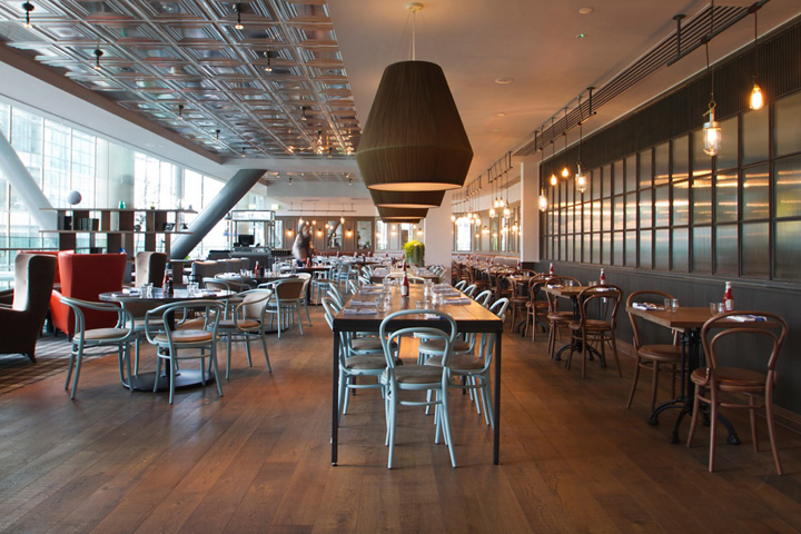 Bar stools retail design blog for Restaurant design london