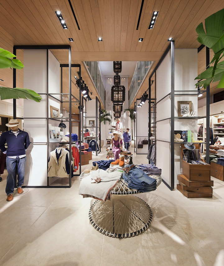 Tommy Bahama Flagship Store New York 03 Retail Design Blog
