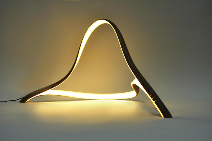 Unique series of lamps by John Procario