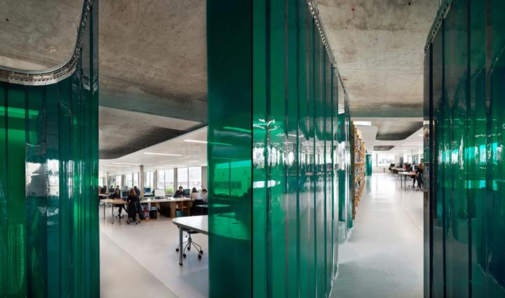 x tu architects office paris retail design blog. Black Bedroom Furniture Sets. Home Design Ideas