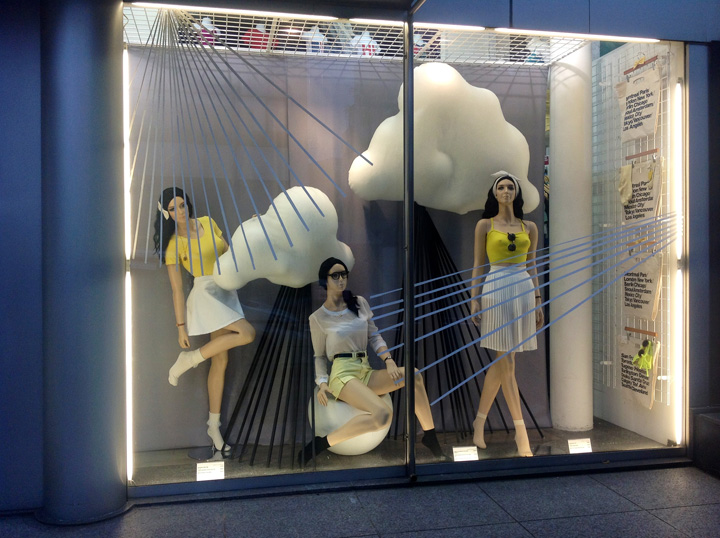 187 American Apparel Rainy Season Windows By Lena Shockley