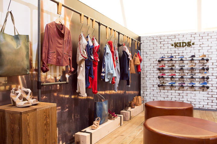bread butter berlin 2013 summer timberland by green room retail design blog. Black Bedroom Furniture Sets. Home Design Ideas