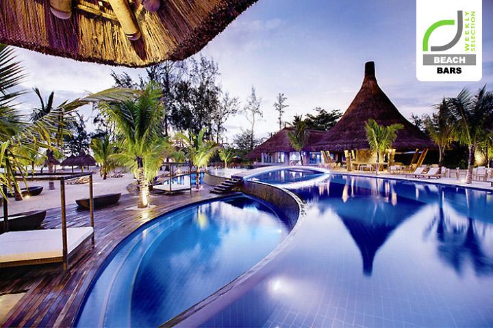 Beach bars c beach club at domaine de bel ombre for Design hotel mauritius
