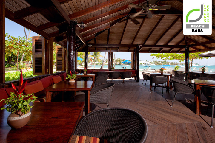 Beach bars calabash hotel beach bar st george s for Beach bar ideas