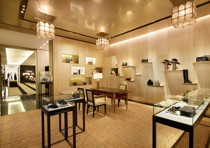 Chanel flagship store by peter marino london retail design blog Interior design stores london