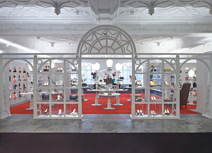 187 Christian Louboutin Store By Lee Broom At Harrods London