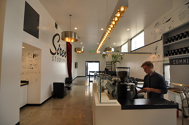 Coffee Commissary At Siren Studios By Tima Winter Inc