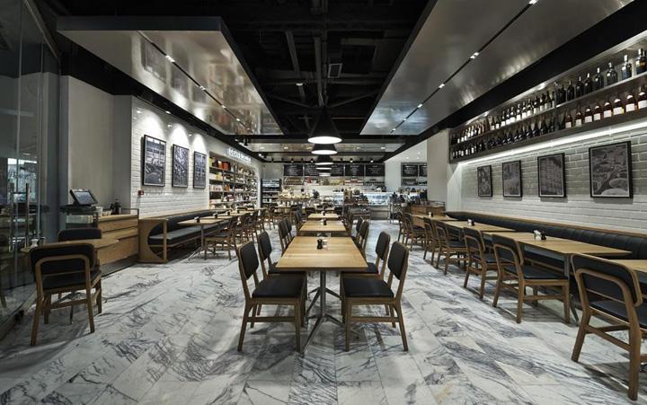 187 Dean Amp Deluca Store Restaurant By Kontra Architecture