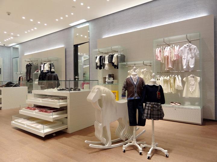 FENDI Kids store Doha – Qatar Retail Design Blog