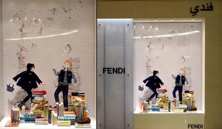 Fendi Kids Store Doha Qatar 187 Retail Design Blog
