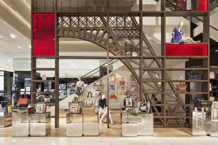 Galeries lafayette department store by plajer franz for Interior design lafayette la