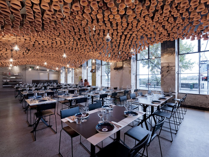 Gazi restaurant by march studio melbourne retail design