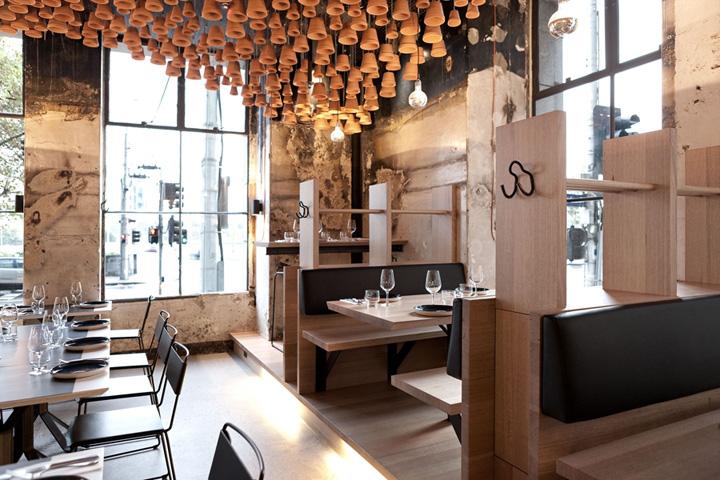 Gazi Restaurant Interior : Gazi restaurant by march studio melbourne retail design