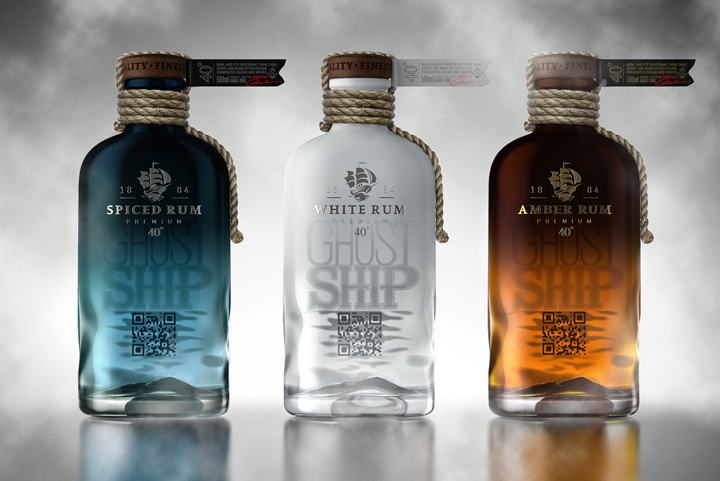 Ghost Ship Rum concept packaging by Galya Akhmetzyanova Pavla Chuykina 02 Ghost Ship Rum concept packaging by Galya Akhmetzyanova & Pavla Chuykina