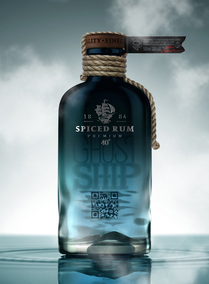 Ghost Ship Rum concept packaging by Galya Akhmetzyanova Pavla Chuykina 03 Ghost Ship Rum concept packaging by Galya Akhmetzyanova & Pavla Chuykina