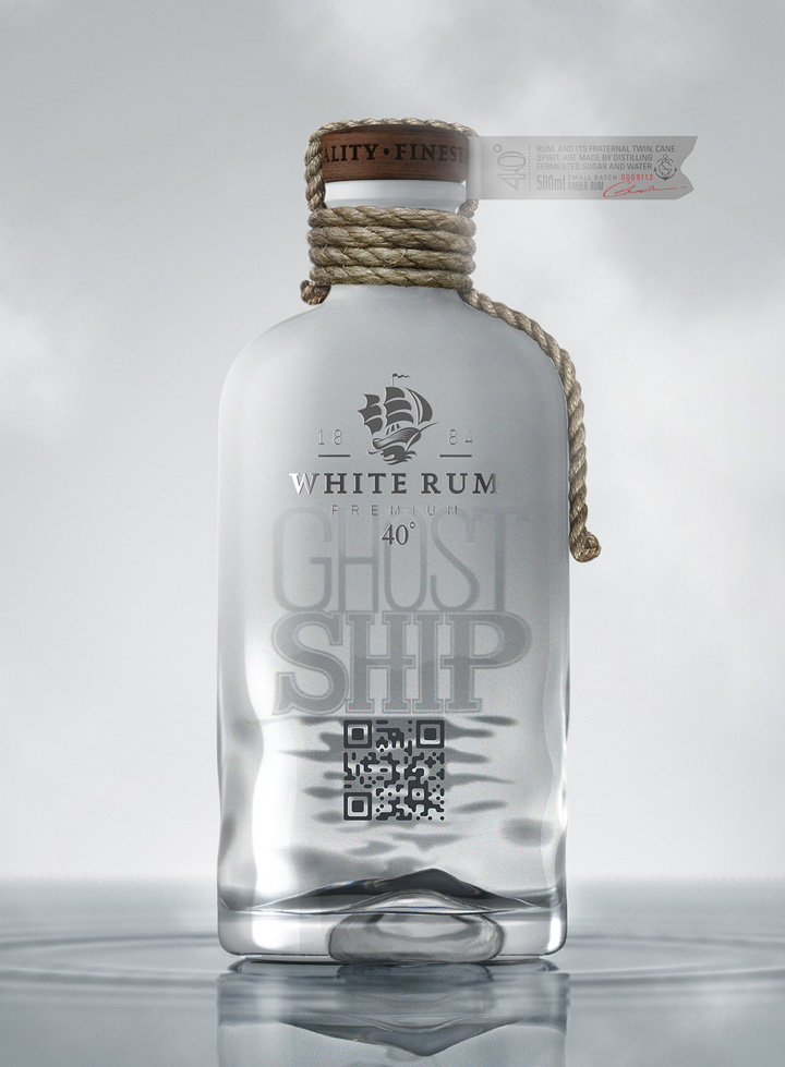 Ghost Ship Rum concept packaging by Galya Akhmetzyanova Pavla Chuykina 04 Ghost Ship Rum concept packaging by Galya Akhmetzyanova & Pavla Chuykina