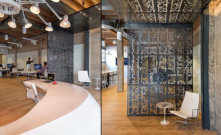 giant pixel office by studio o a san francisco california