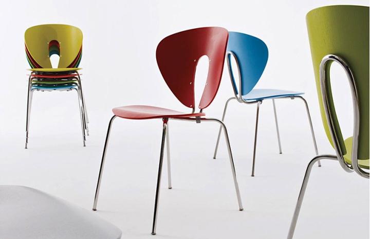 globus chair by stua retail design blog. Black Bedroom Furniture Sets. Home Design Ideas