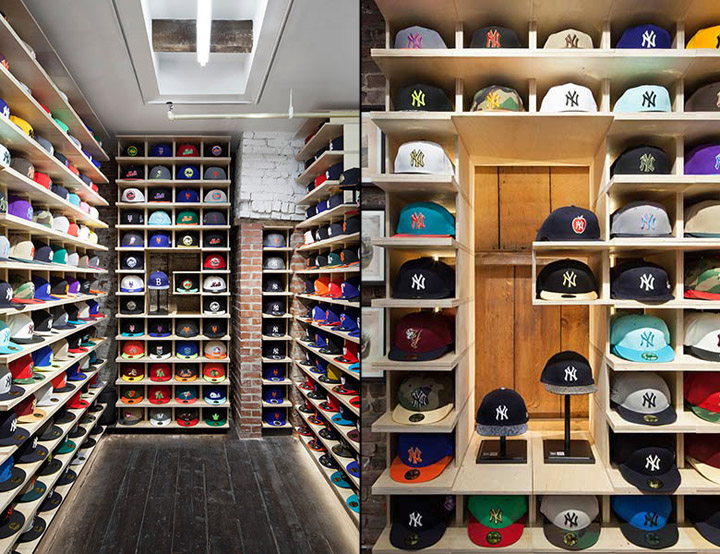 Hat Club SoHo shop by theUPstudio bcaf8529ed0b