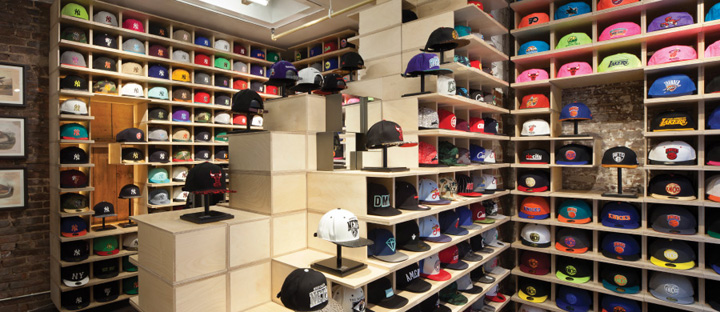 Hat Club SoHo shop by theUPstudio, New York