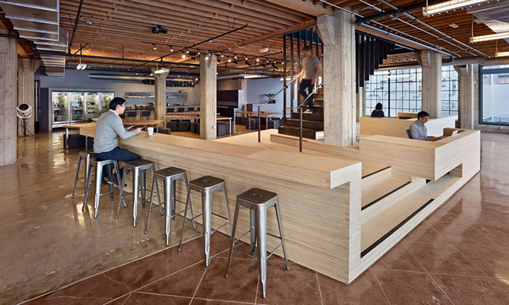 Heavybit industries office by iwamotoscott architecture for Pre built stairs interior