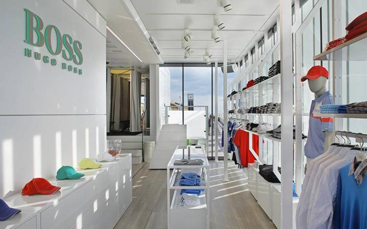 Superb Hugo Boss U2013 Boss Green Truck Mobile Store By LIGANOVA