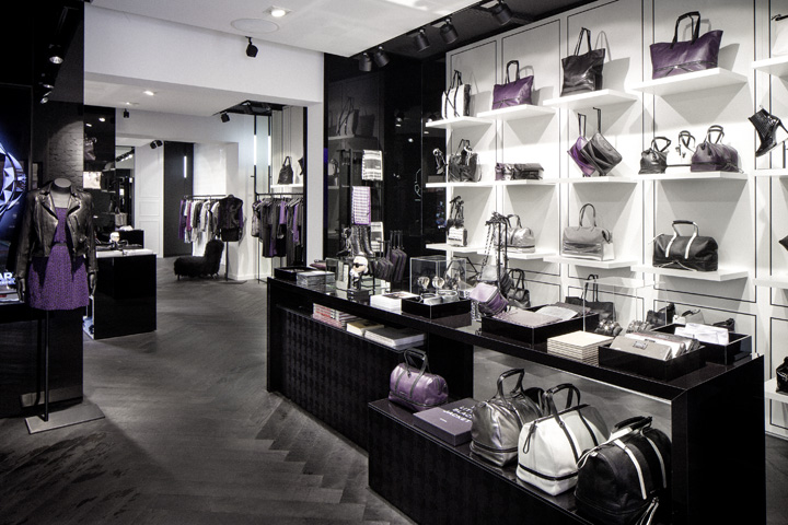 Karl lagerfeld store by plajer franz studio berlin for Berlin furniture stores