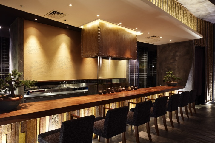 kemuri restaurant by prism design shanghai retail design blog. Black Bedroom Furniture Sets. Home Design Ideas