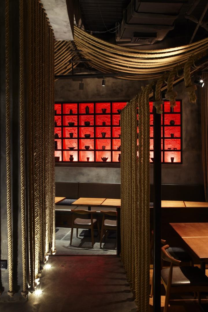 Kemuri restaurant by prism design shanghai retail for Design hotel shanghai