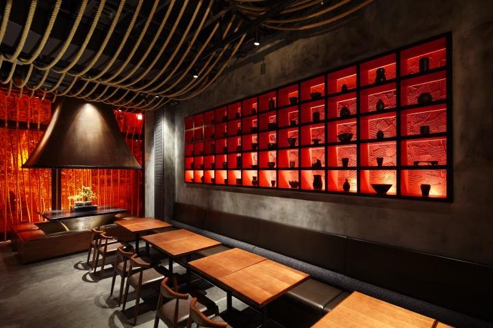 Kemuri Restaurant By Prism Design Shanghai 187 Retail