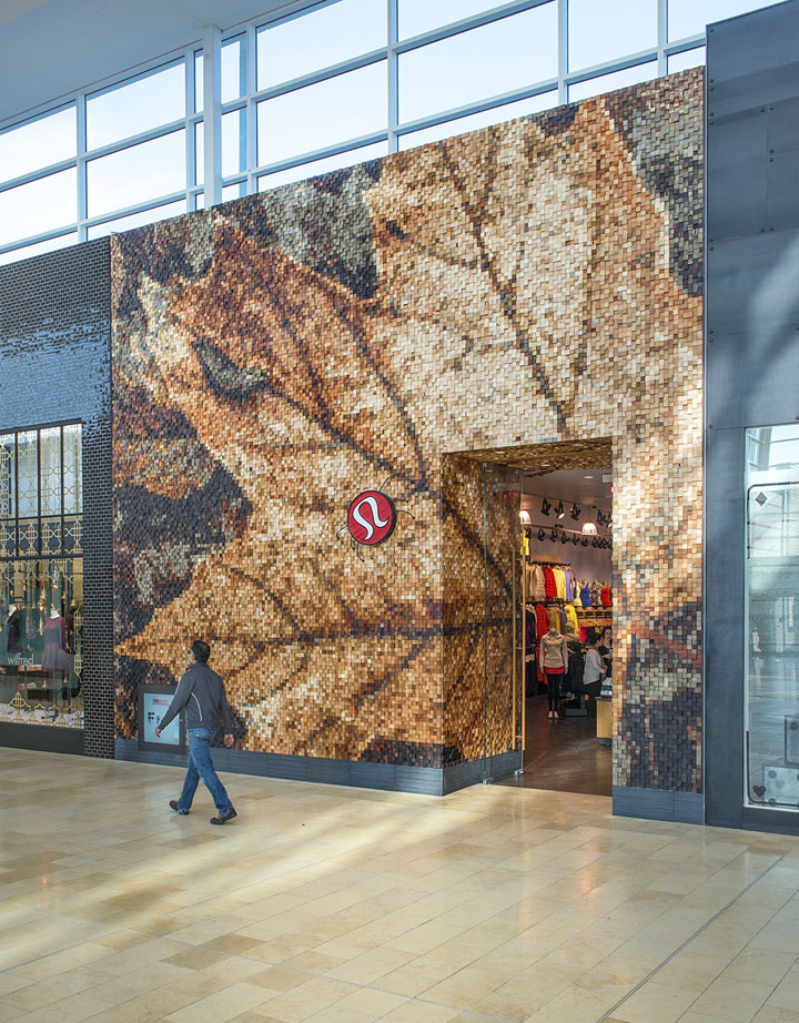 Lululemon yorkdale store by quadrangle architects brothers add ccuart Choice Image