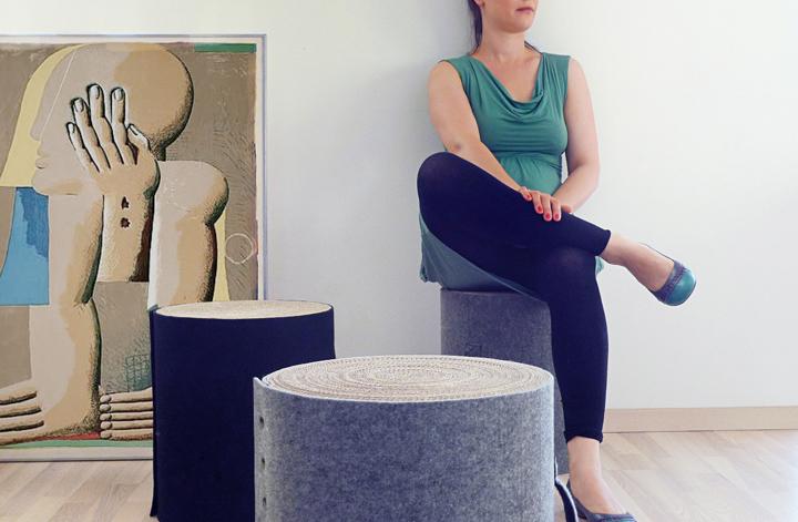 Maki stool by Magda Pinczynska 02 Maki stool by Magda Pińczyńska