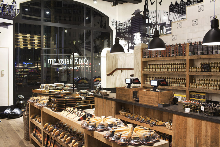 187 Old Amsterdam Cheese Flagship Store By Studiomfd Amsterdam