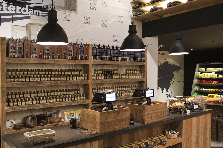 Old Amsterdam Cheese store by studiomfd Amsterdam 04 Old Amsterdam Cheese flagship store by studiomfd, Amsterdam