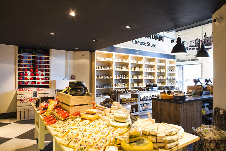 Old Amsterdam Cheese store by studiomfd Amsterdam 09 Old Amsterdam Cheese flagship store by studiomfd, Amsterdam