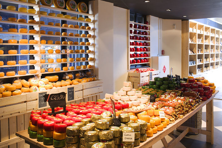 Old Amsterdam Cheese store by studiomfd Amsterdam 10 Old Amsterdam Cheese flagship store by studiomfd, Amsterdam