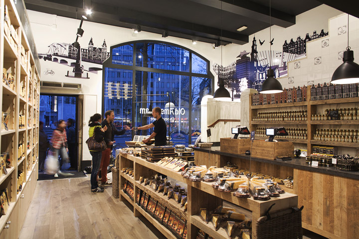 Old Amsterdam Cheese store by studiomfd Amsterdam 14 Old Amsterdam Cheese flagship store by studiomfd, Amsterdam