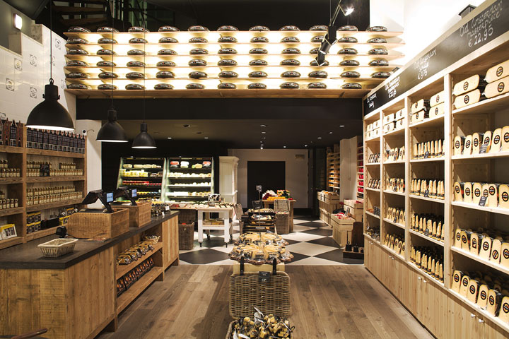 Old Amsterdam Cheese store by studiomfd Amsterdam Old Amsterdam Cheese flagship store by studiomfd, Amsterdam