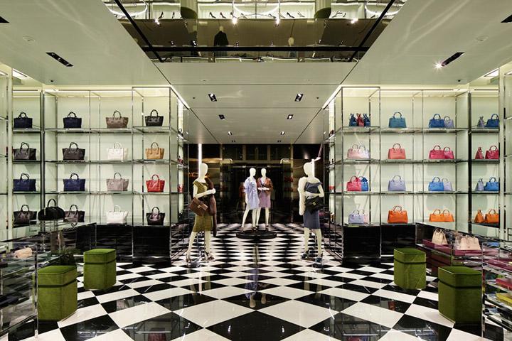 Prada Flagship Store By Roberto Baciocchi Osaka Japan Retail Design Blog
