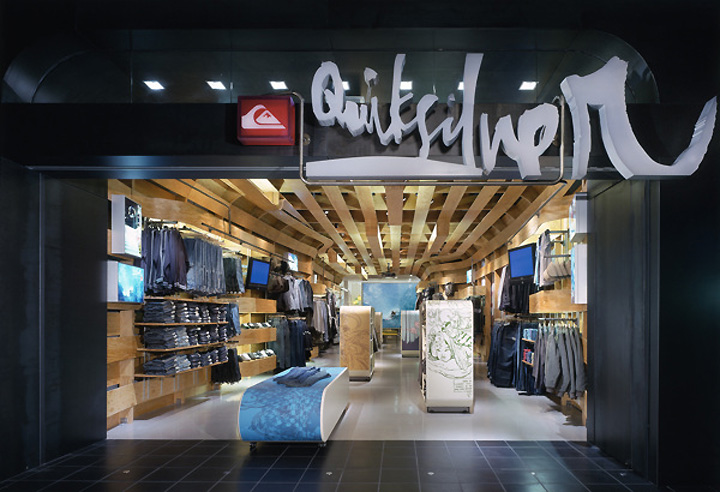 Quiksilver Young Men S Store By Clive Wilkinson Architects Costa