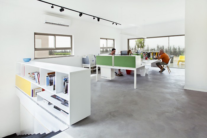 This Office Is The House Of A Unique Boutique Interior Design Firm Located  In The North Of Israel. It Is Located In Kibbutz Sarid, An Hour Drive From  The ...