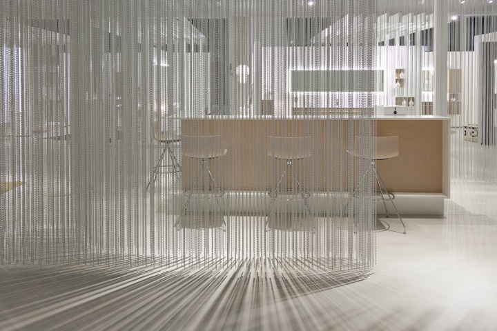 Talsee showroom by burkard meyer kriskadecor hochdorf for Design hotel chain