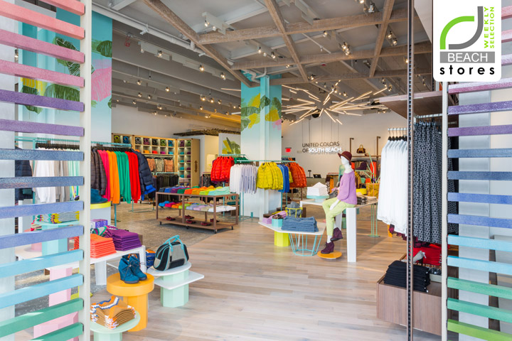 1996153e6f7752 BEACH STORES! United Colors of Benetton flagship store