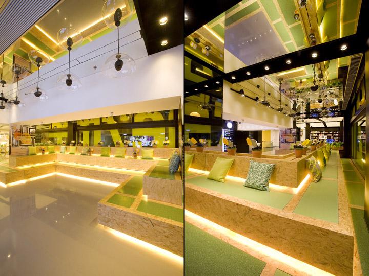 one2free megastore by clifton leung design workshop hong kong. Black Bedroom Furniture Sets. Home Design Ideas