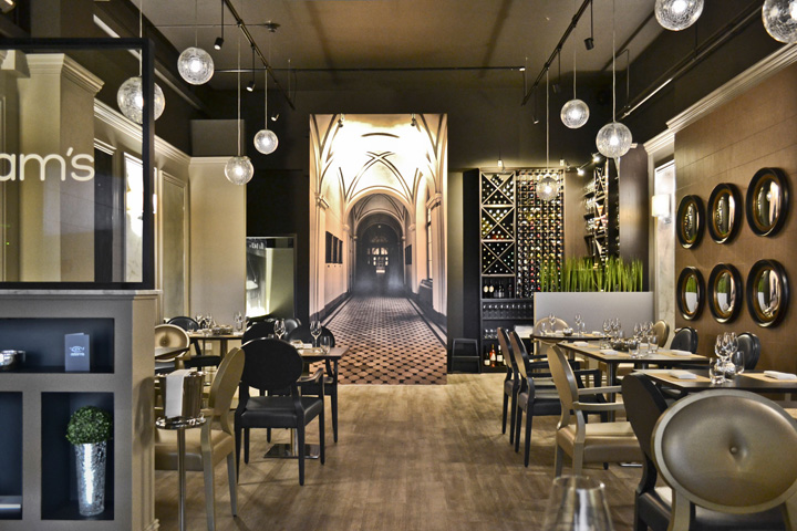 Restaurant Interior Design Birmingham : Adam s restaurant by heterarchy birmingham uk retail