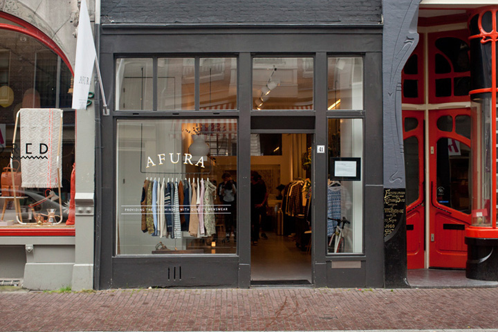 Afura pop up store amsterdam retail design blog for Design amsterdam