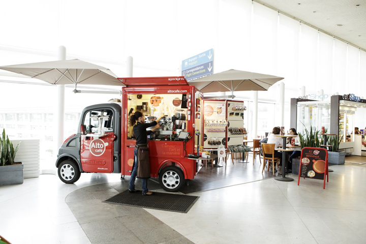 Alto Caf Mobile Pop ups Paris Retail Design Blog