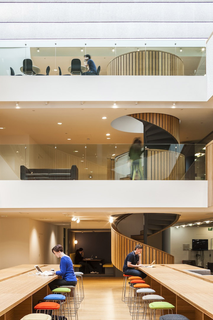 Bbh s offices by urban salon london retail design blog for Retail design agency london