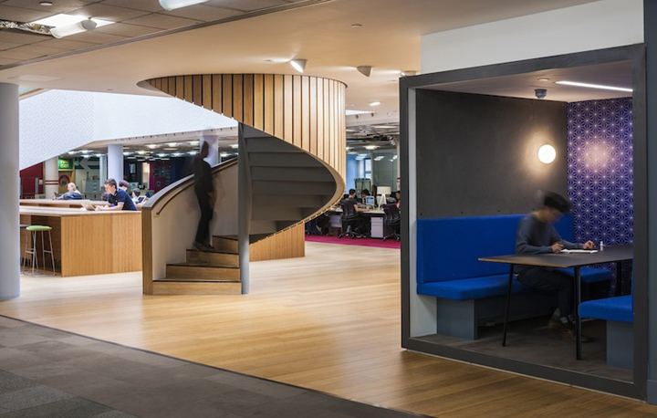 Bbh s offices by urban salon london retail design blog for Office design london